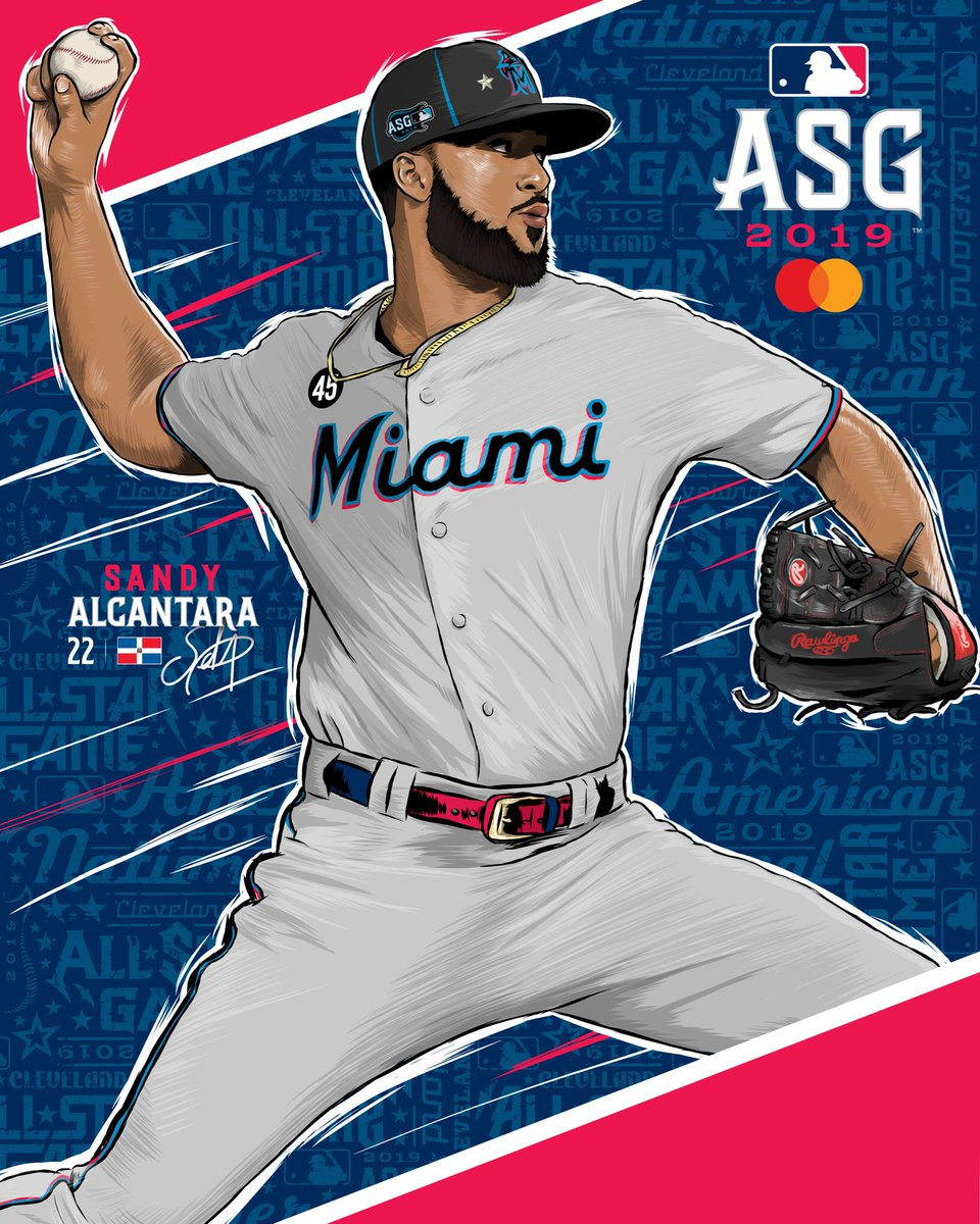 Come out to the ballpark this Saturday and pick up the @sandyalcantar15 All-Star Game Poster I had the opportunity to illustrate! #illustration #vectorart #ipadpro #design #marlins<br>http://pic.twitter.com/xYwqBd5Yyb