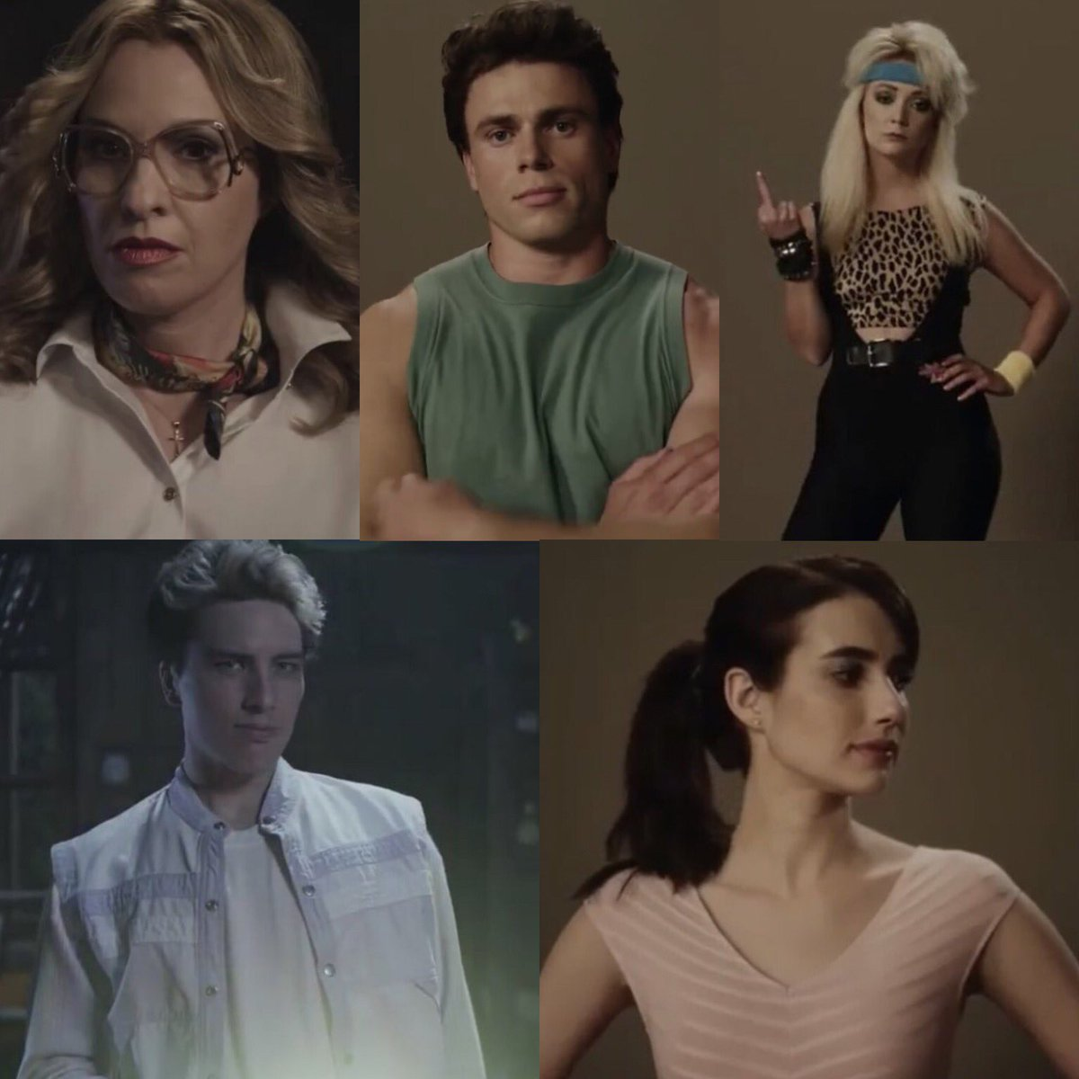 The Main Cast of #AHS1984