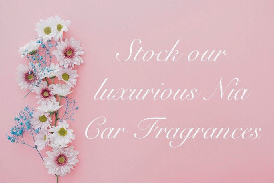 Do you own a shop, salon or boutique?! Fancy becoming a Nia Car Fragrance stockist?! Please get in touch 🥰💗 #niafragrances #travelinstyle #carperfume