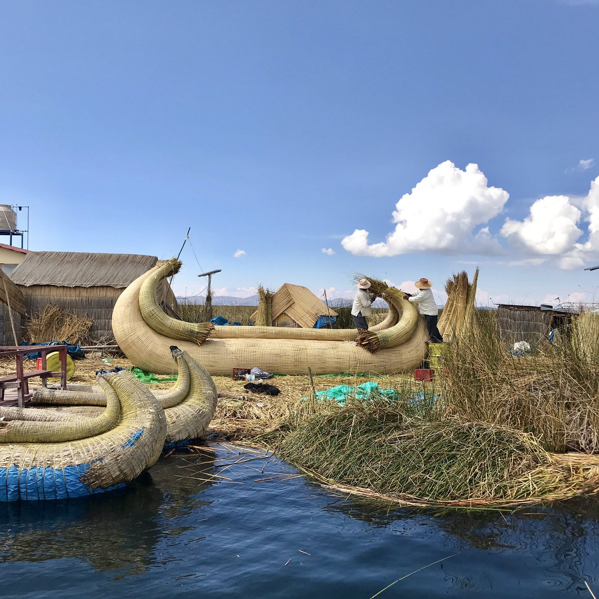 A1: Trying local dishes and trying to connect with the local community brings the culture closer. I recently travelled to Lake Titicaca and whilst a lot of people visit Uros Islands (Peru side) on a 2 hour tour I stayed 2 nights with an Uros Family. It was fab. #CultureTrav