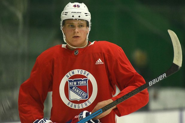 The New York Rangers have signed forward Kaapo Kakko to a three-year, entry level contract.   Kakko was the Rangers' 1st round (2nd overall) pick in the 2019 NHL Entey Draft. <br>http://pic.twitter.com/SVwALyIxf4