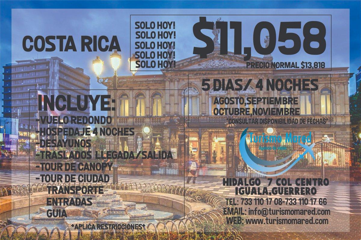 VAMONOS A COSTA RICA!! #travel #trip #costarica #canopy #turismomared #travelagency https://t.co/wrkd6iJmSL
