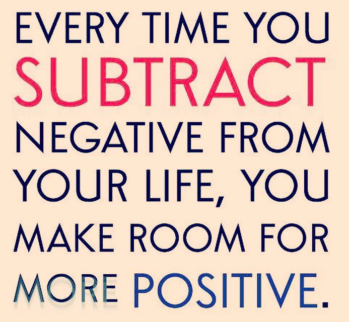 Avoid negativity and make more space for positivity.  #positivity #positivequotes #quotesdaily #quotes #negativity<br>http://pic.twitter.com/M2PaU1UjuU
