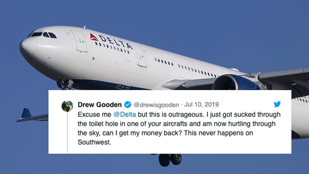 YouTuber dunks on Delta Airlines after they respond to his prank tweet https://trib.al/9hXEglJ