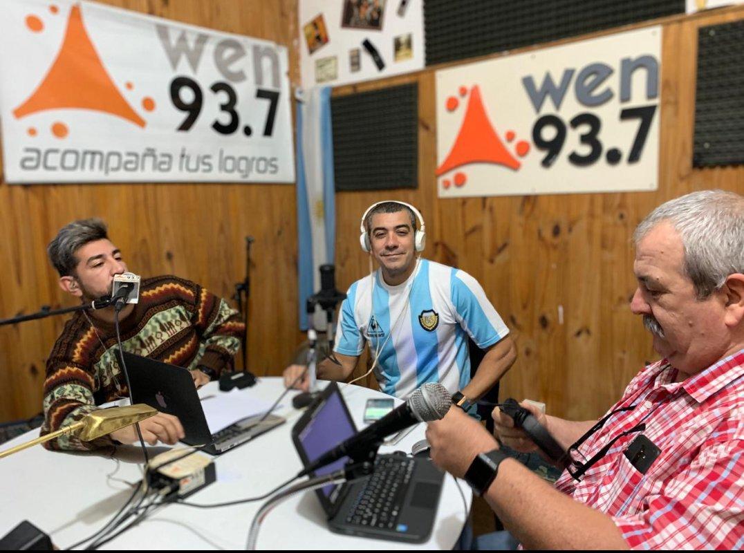 Ya al aire #EstacionQueijeiro por FM Wen 93.7. Hoy: Los problemas de la campaña, el post Copa América y qué opinaba Evita de las feministas.  Escuchanos on line http://www.fmwen.com.ar