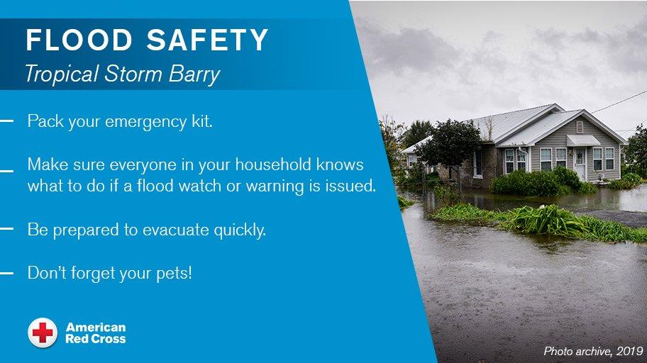@RedCross's photo on #TropicalStormBarry