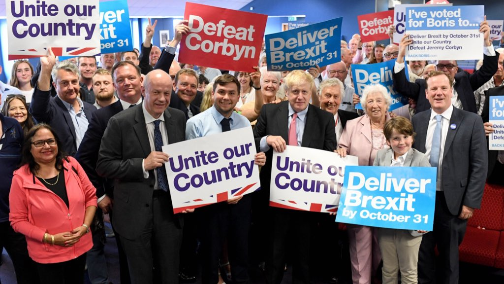 Big thank you to everyone in Maidstone today! Another fantastic opportunity to spend time with our members and to set out my plan to deliver Brexit, unite the country and defeat Jeremy Corbyn  If you've not yet received your ballot, please visit 👉 http://backboris.com/ballot