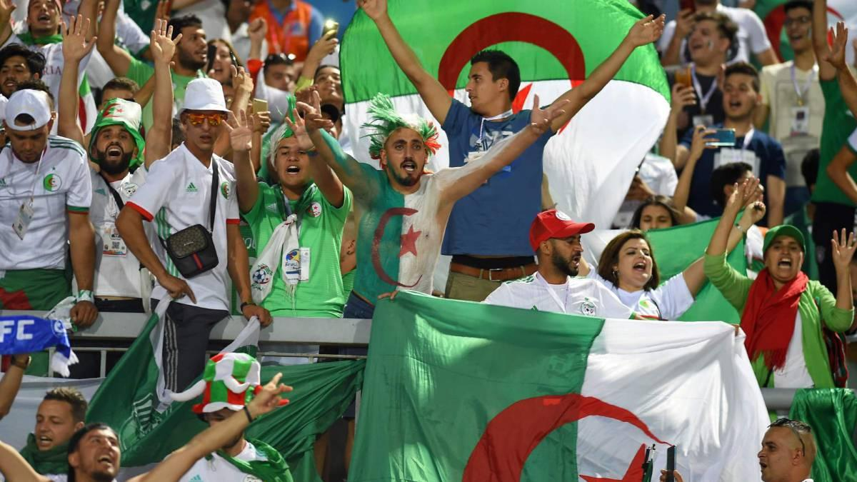 Algeria have knocked out Ivory Coast. Bounedjah was very relieved after missing a crucial penalty during the game. They look like serious challengers for the #AFCON2019  along with Senegal. Can they go all the way?<br>http://pic.twitter.com/7AJTmdQ0tT
