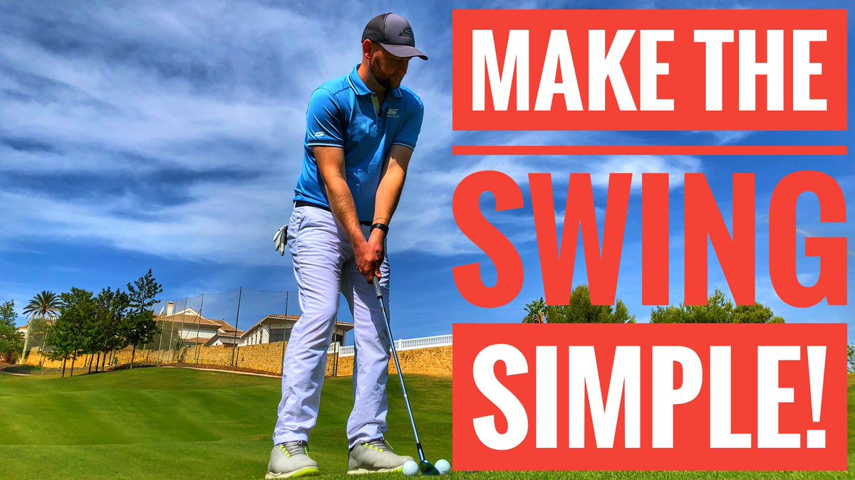 https://youtu.be/qWfHIlnYpS4  🎥 Make The Golf Swing SIMPLE