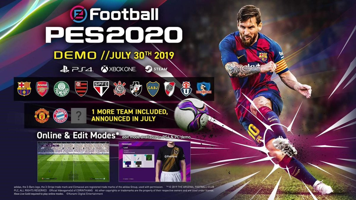 0d335addf Pro Evolution Soccer (@officialpes) | Twitter