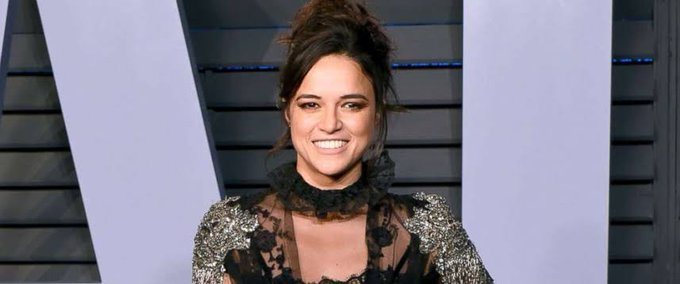 I do have a delicate side.  Michelle Rodriguez Happy Birthday Beautiful Mam