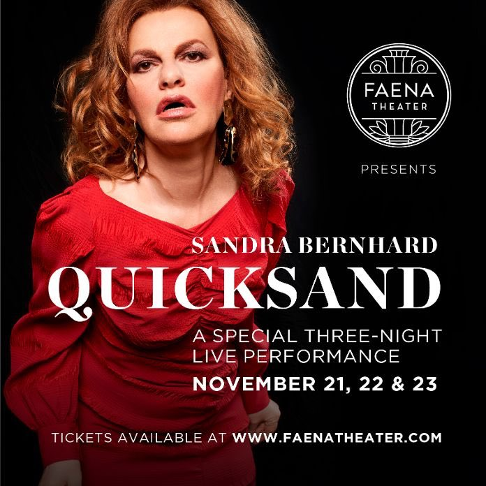 Glamour in Miami Beach #Quicksand ⁦@FaenaMiami⁩ three exciting nights #Sandyland live baby Nov 21 21 23 buy your tickets now kids!