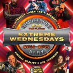 Image for the Tweet beginning: 🚨⚠EXTREME WEDNESDAYS -UNLIMITED PLAY SPECIAL⚠🚨  Experience