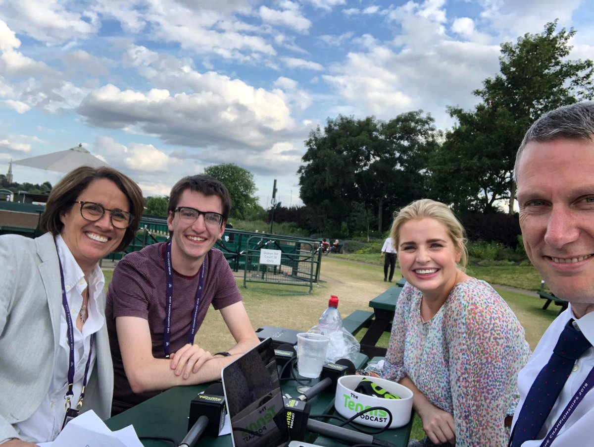 NEW PODCAST!   #Wimbledon Day 10 - Mary Carillo Guests! Talking Serena & Simona's Strolls, Previewing Federer vs. Nadal.   Listen - http://po.st/TP_563 Download - http://po.st/TP_563Download iTunes - http://po.st/TP_563Apple