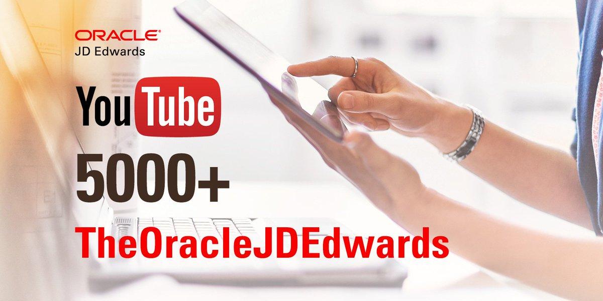 Media Tweets by Oracle JD Edwards (@OracleJDEdwards) | Twitter