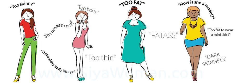 """I am so sick of body shaming.""You're too fat.""""You're too thin. ""You are too bony"" Well you're too much of an asshole so STFU #Shame <br>http://pic.twitter.com/o3kbRdqj84"