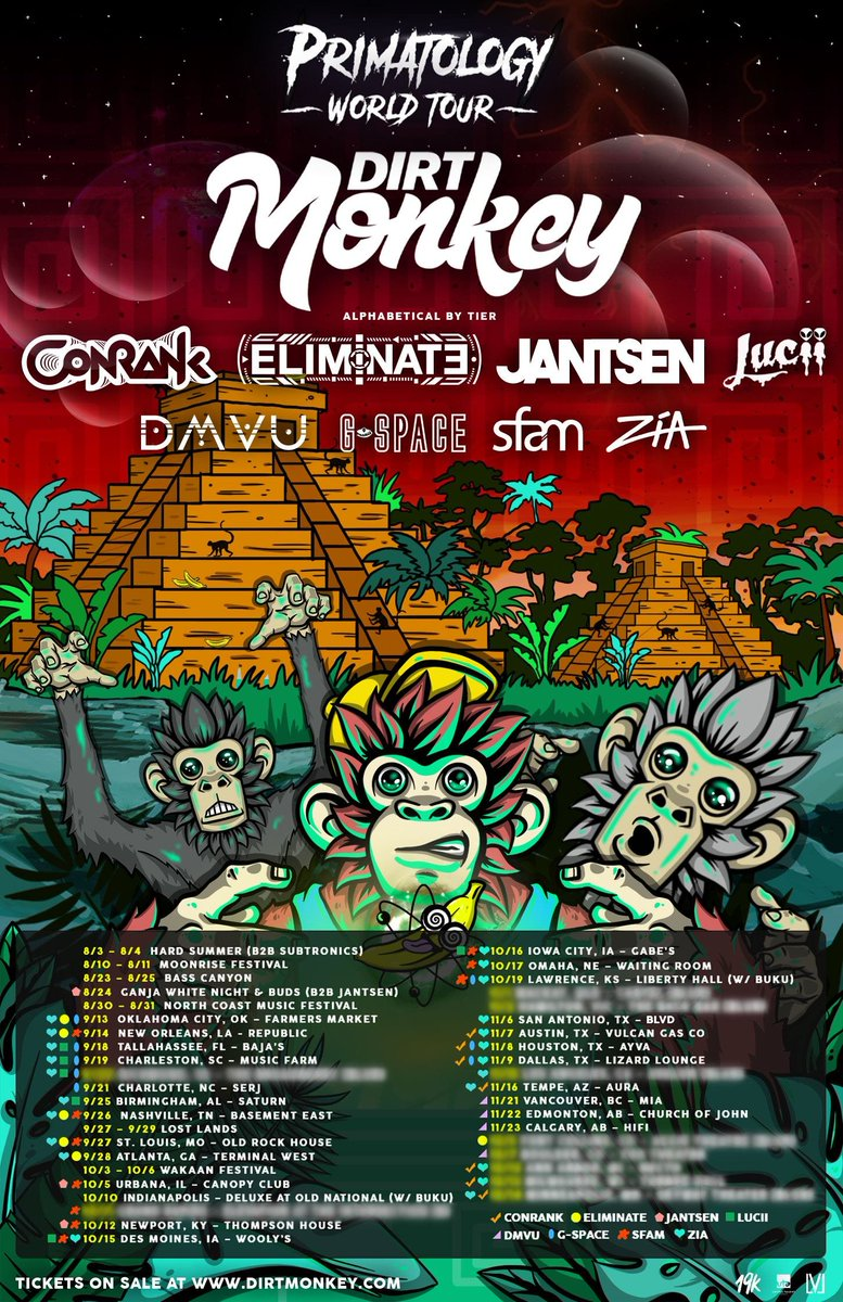 🤯 PRIMATOLOGY TOUR 🤯 (@dirtmonkeymusic) | Twitter
