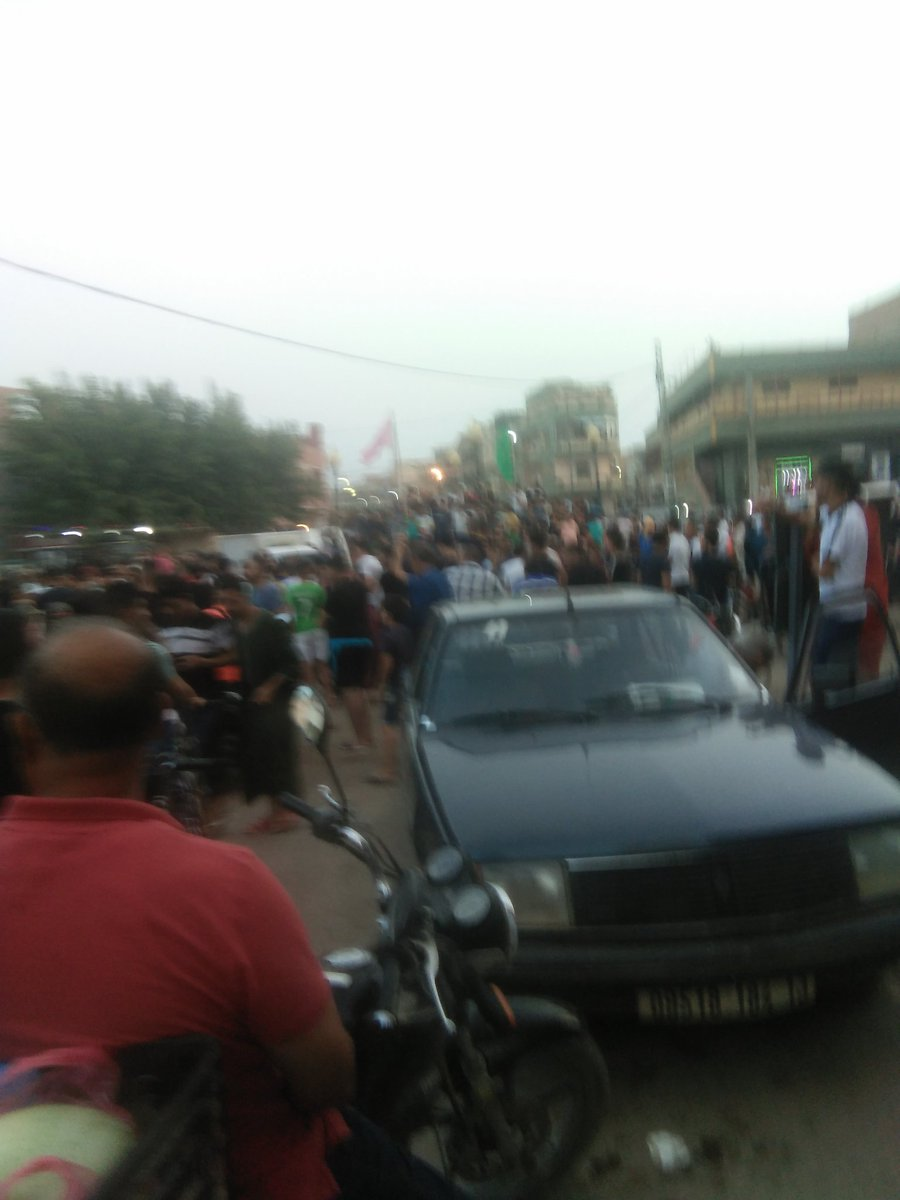 #CIVALG celebrations on the Algerian streets