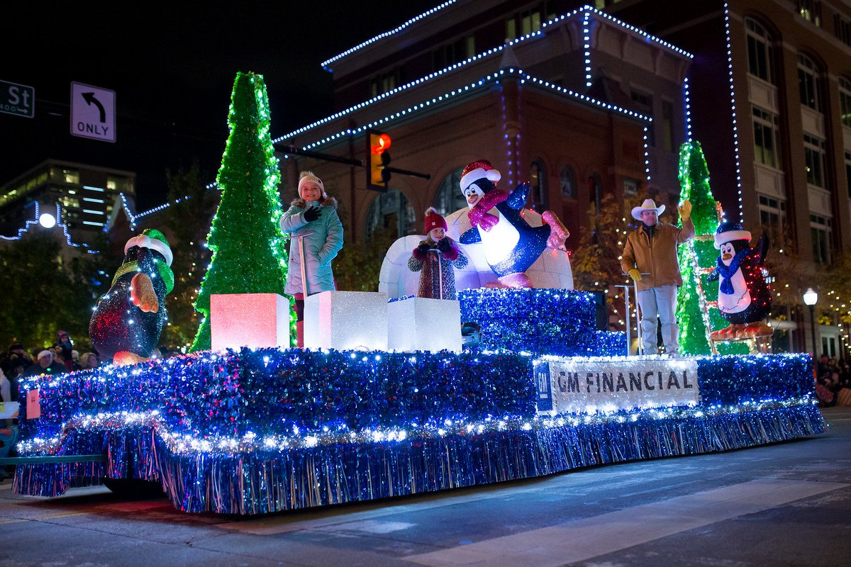 Fort Worth Christmas Parade 2019 GM Financial Fort Worth Parade of Lights (@Paradeof_Lights) | Twitter