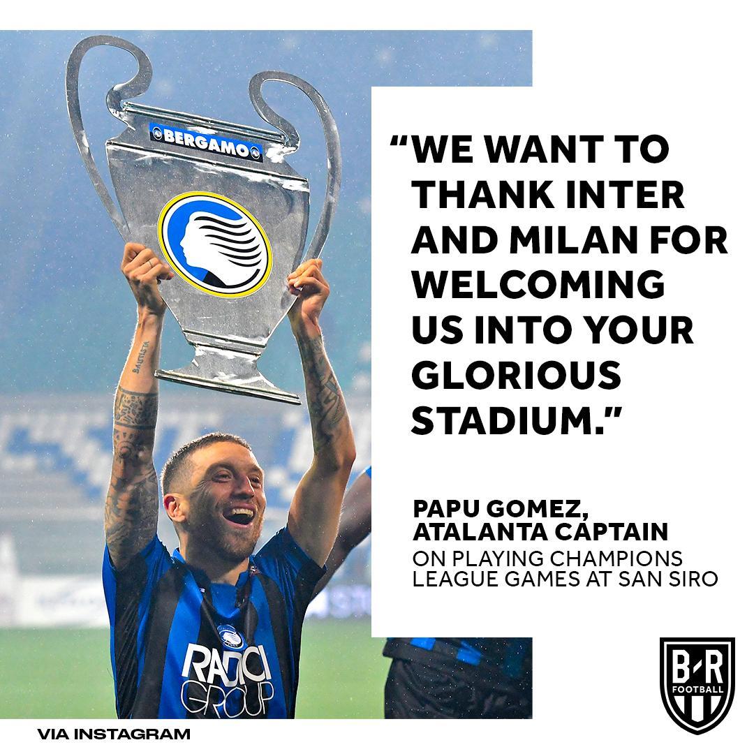 Atalanta look set to play their Champions League games at the San Siro next season