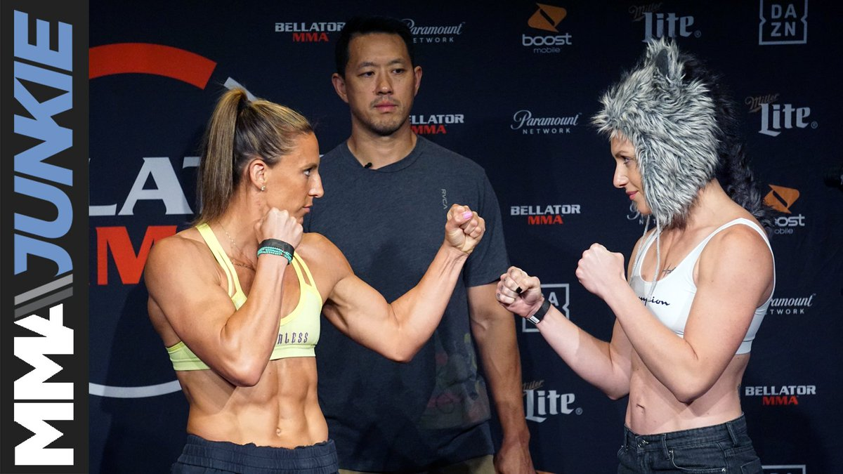 It's time for the #Bellator224 main event. Who leaves with women's featherweight gold between @JuliaBudd and @OlaRubin? https://wp.me/p3WzJ0-1LHa