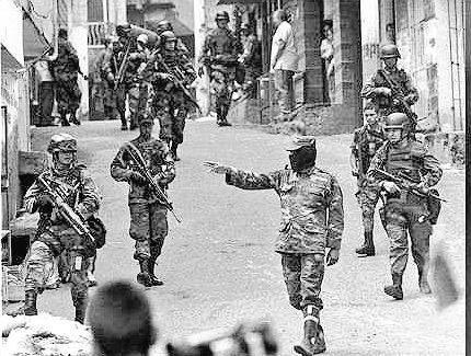 """Y en esta visita No habrá masacre como ocurrío en la """"visita"""" de el ejército colombiano y los NarcoParaMilitares la que llamaron Operación Orión....."""