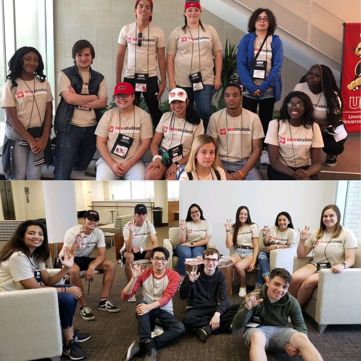 Here's some awesome moments from our last orientation! Can't wait to make more memories this week! #UHVNSO #JAXNATION #StudentLife  <br>http://pic.twitter.com/7bRlADpfSg