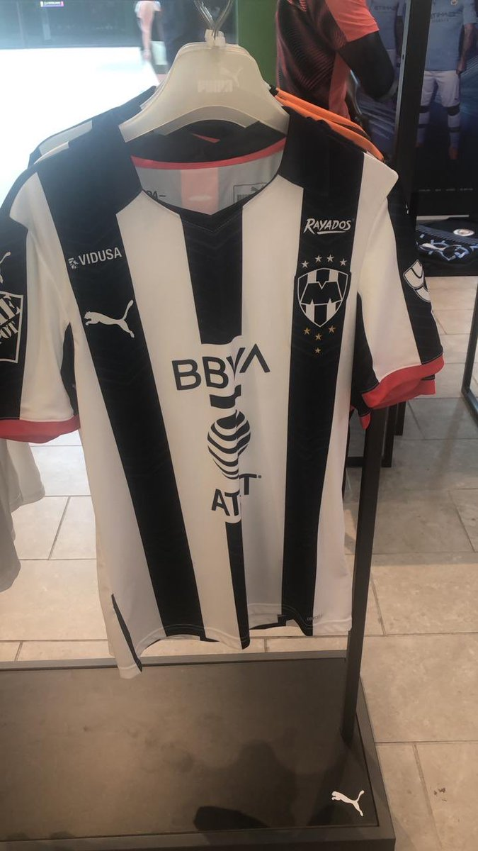 Jersey Rayados de Monterrey 2019-20