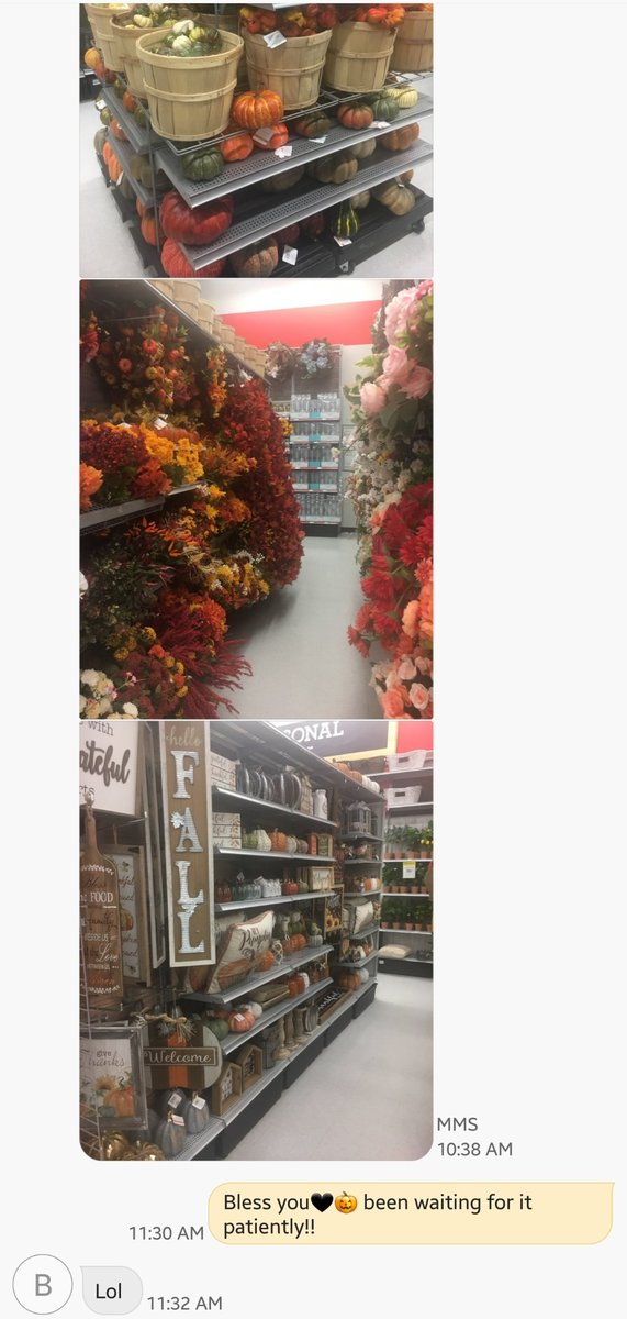 Even in July, those who know me realize receiving this text is my equivalent to their Christmas Let the bewitchin' hours begin!! #AllHallowsEve #Halloween @MichaelsStores #YouKnowMe <br>http://pic.twitter.com/GhZbnI3oAA