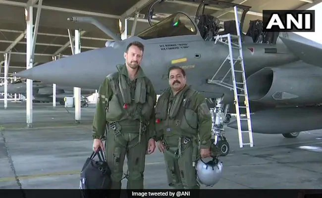 "Air Force Vice Chief flies Rafale, warns of ""potent"" pairing with Sukhoi https://www.ndtv.com/india-news/rafale-jet-is-game-changer-for-air-force-air-marshal-rks-bhadauria-2068248 …"