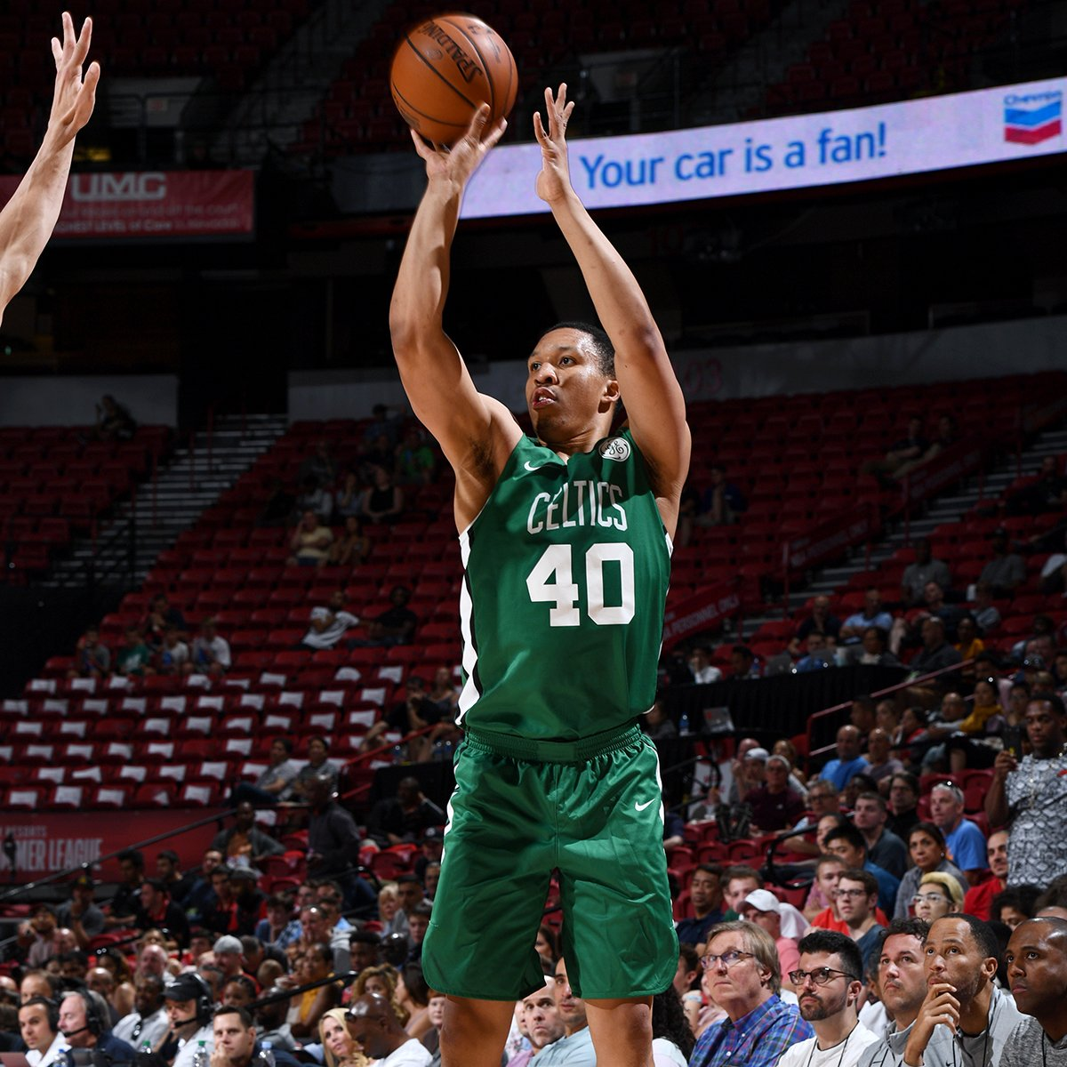 A couple of @celtics showed out tonight  📊⤵️  @Grant2Will  21PTS | 7 REB @rob_williamsIII  16 PTS | 16 REB  #NBASummer