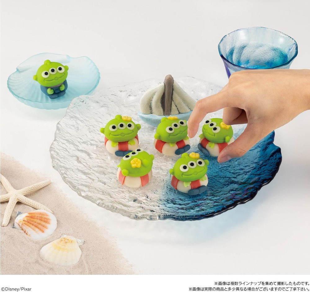トイ・ストーリーのエイリアンをモチーフにした新作の和菓子が登場!