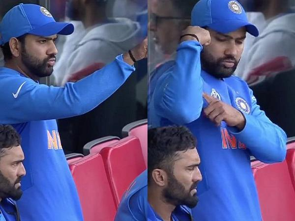 #RohitSharma 's Gesture for #RavindraJadeja During #INDvNZ Match Reveals A Message: #WATCH !    https://www. behindwoods.com/news-shots/spo rts-news/rohit-sharma-signal-to-ravindra-jadeja-during-spectacular-knock-watch.html  …  … …  #CWC19 #TeamIndia #INDvNZL #bitsandpieces<br>http://pic.twitter.com/iG2BuZcYbf