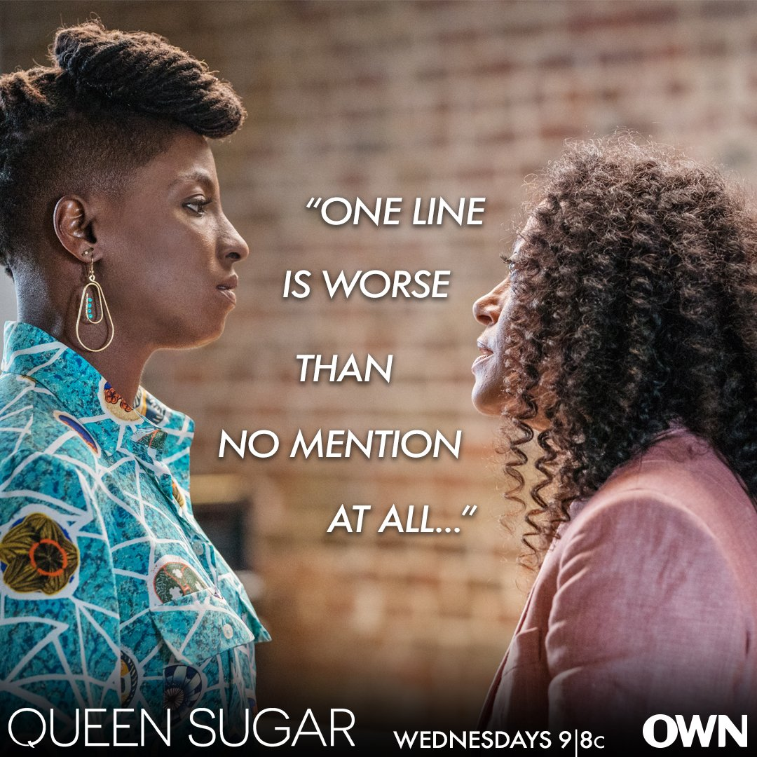 No one wants to feel forgotten. #QUEENSUGAR