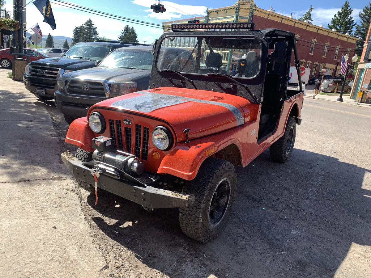 oh yeah, you can road register a Mahindra Roxor in Montana