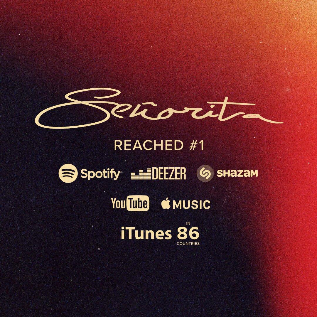 Thank you all. #Señorita @ShawnMendes @Camila_Cabello