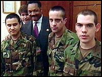 MEDIA ALERT!In the 20th anniversary year of a successful mission of mercy to rescue a trio of young American prisoners of war held captive by Yugoslavian forces,@RevJJackson will reunite w/ 2 of the 3 soldiers Sat,7.13.19 10amC @RPCoalition National HQs 930 E. 50th St Chicago, IL
