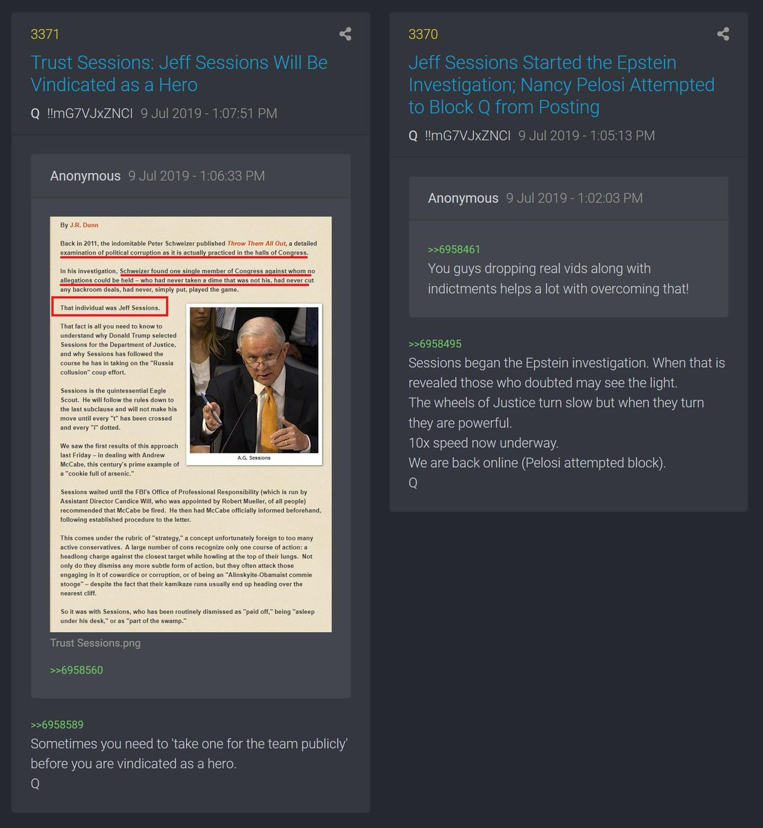 "A Thread Written By @WatcherDead: ""Epstein Documents To Be"