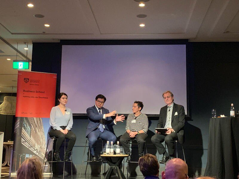 Enjoyed last night's panel on the business of diversity with @sydney_business