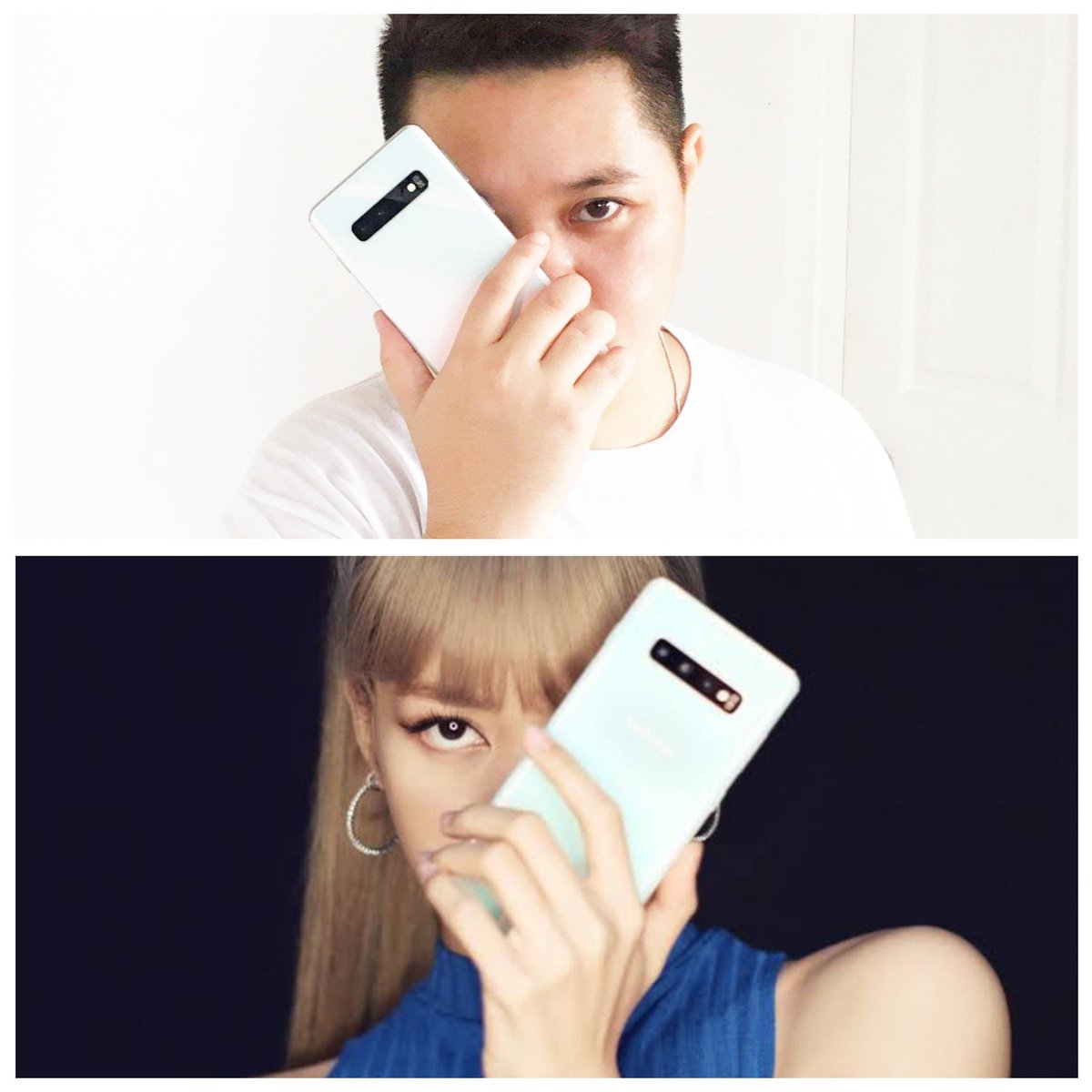 Coz i can't have my #LISA on my birthday or ever.. hahaha so I just bought myself what my #LISA is promoting.. HAPPY BIRTHDAY TO ME...#LISA #BLACKPINK #BLINK @ygofficialblink #Samsung #galaxys10series pic.twitter.com/weLp39p8sf