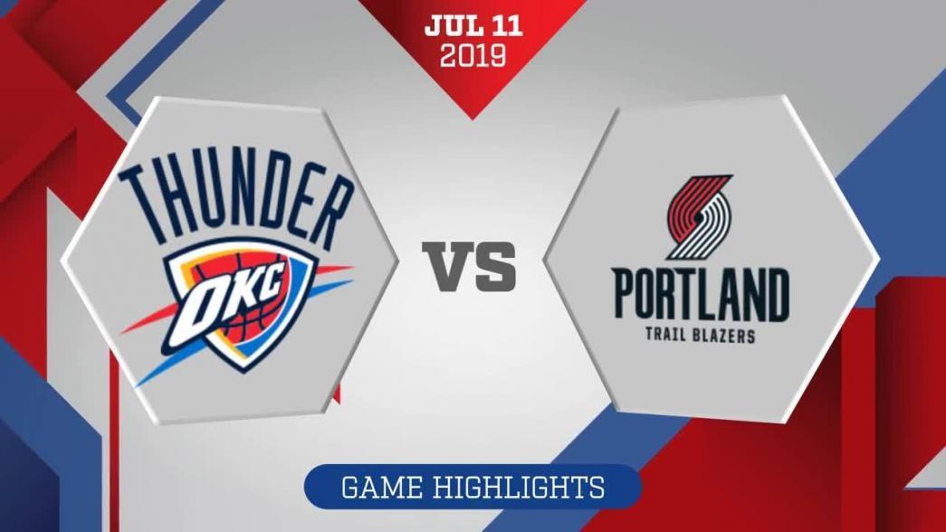 Oklahoma City Thunder vs. Portland Trail Blazers - Game Highlights https://t.co/5EG5rwDbM6 https://t.co/XEjxGQNmU9