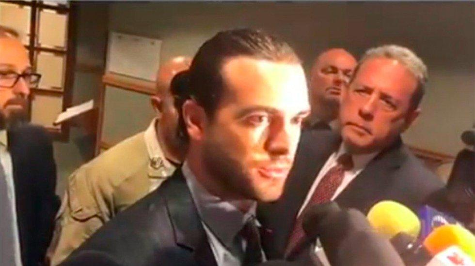 Estas fueron las primeras declaraciones de Pablo Lyle tras el incidente en Miami(VIDEO) http://bit.ly/2YNTAY3