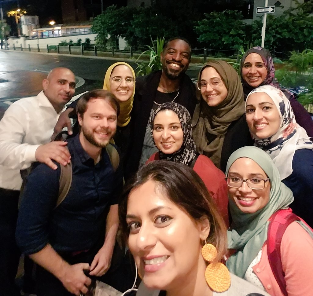So basically at #NN19 in Philly when me and a gang of Muslim activists were getting ice cream after dinner & chatting on sidewalk after the rain - good wholesome fun - when this guy was playing flute around us. And who else plays flute in public wholesome spaces?ANDRE 3000.  – at The Franklin Fountain
