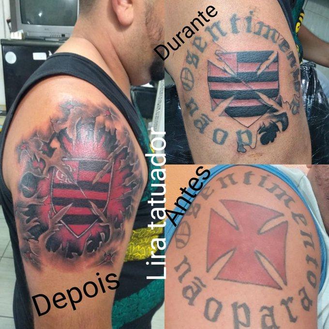 Riacho De Santana Rn Ex Vascaíno Cobre Tattoo Com Cruz