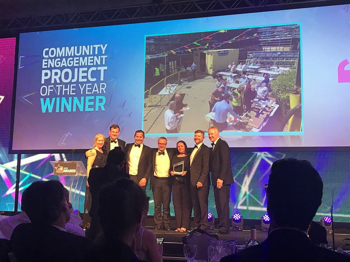 We are so pleased to win 'community engagement project of the year' at the @CNAwards19 last night,  the project is very inspiring and you can read more about it in Clare's blog here >> https://t.co/DqI91PYJnj #community #gateshead #awards https://t.co/qIEp1zqjuN