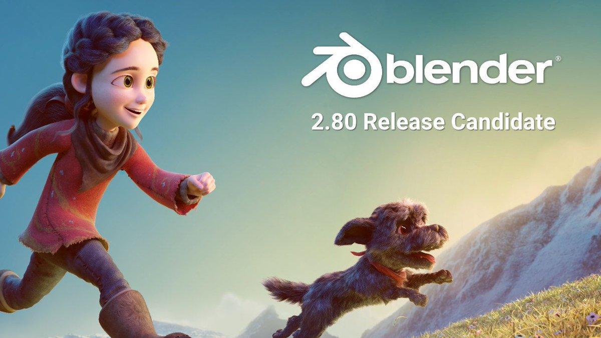 Zeitlich perfektes Timing: der Blender 2.8 Release Candidate ist veröffentlicht. Lasst die Blender 2.8 Workshops beginnen! (ok lasst sie ab dem 26.07. beginnen :) https://t.co/mxUiV2nNev #b3d #blenderday19