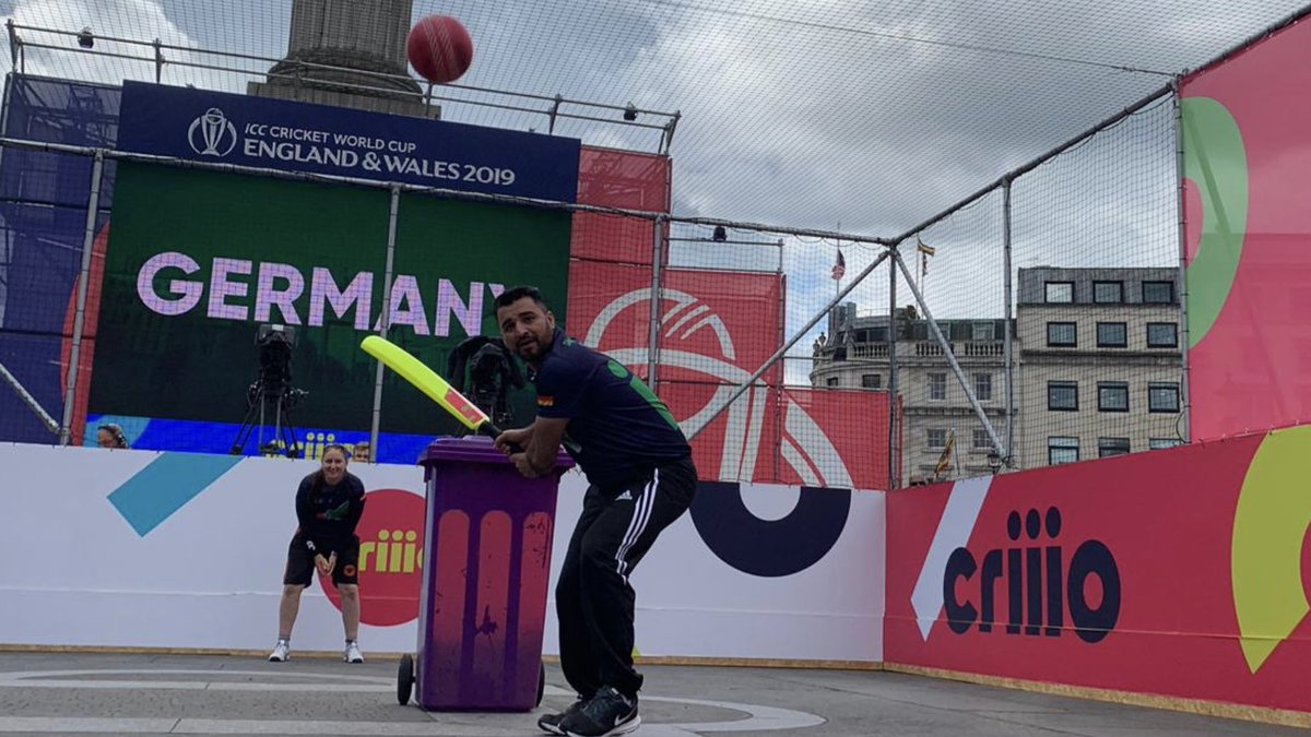 It has all started #criiio cup in Trafalgar Square in London