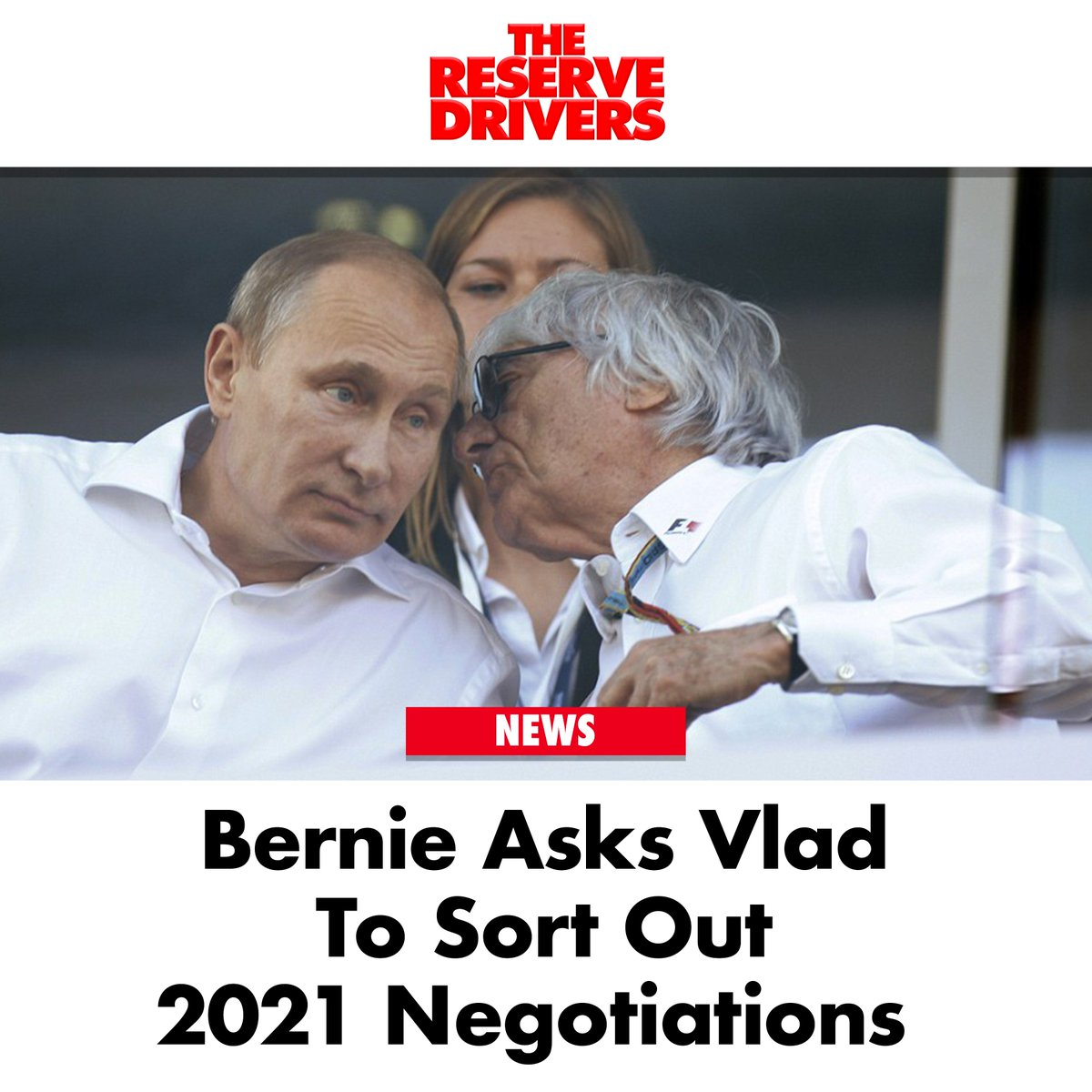 """""""Dictators get deals done,"""" Ecclestone said. #BritishGP  Check out our latest ep, right here: https://youtu.be/EtBfxvJa-yQ"""
