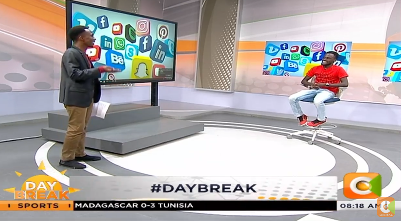 What has been making rounds on the web? Well, @IamKimaniMbugua is here to tell you all about it #DayBreak <br>http://pic.twitter.com/hfTD5BU9e8