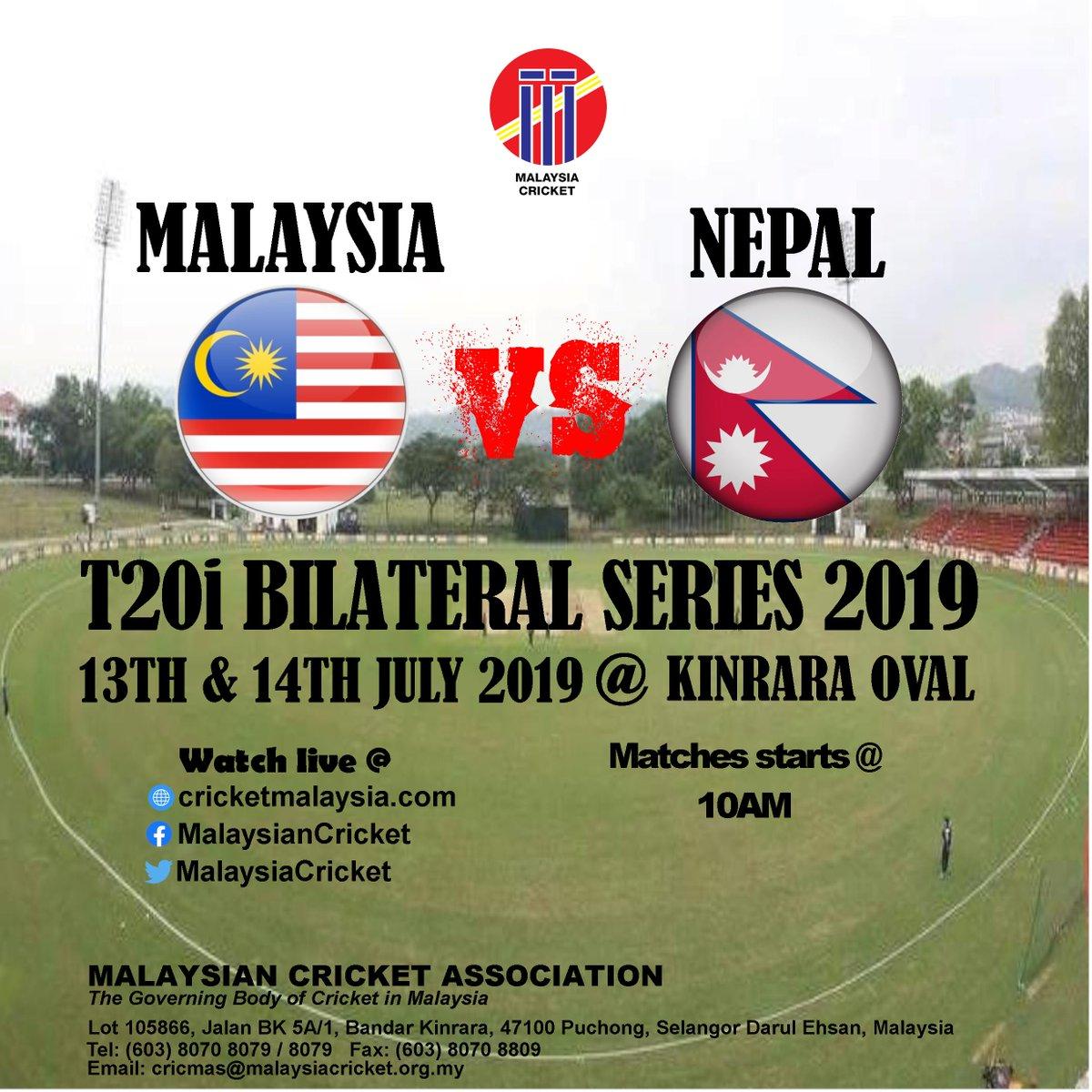Malaysia Cricket (@MalaysiaCricket) | Twitter